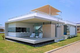 glass house beach u2013 modern house