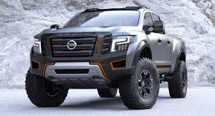 nissan dakar the new nissan titan warrior concept is one mean pick up truck