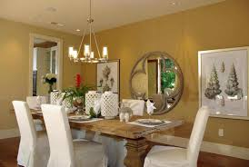 placing dining dining room art room with wall sconces and painting
