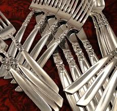 oneida community south seas vintage 1955 silver plate flatware