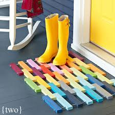 creative door mats you can yourself tuesday ten diy