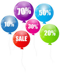 Discount Photo Albums Discount Sale Balloons Transparent Png Clip Art Image Gallery