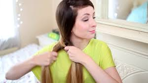 easy hairstyle zoella three simple quick hairstyles tutorial by