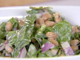 black eyed pea and spinach salad recipe ellie krieger food network