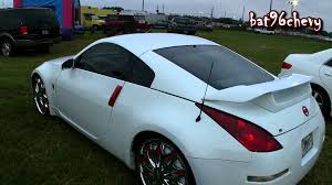 white nissan 350z white u0026 red nissan 350z on 22