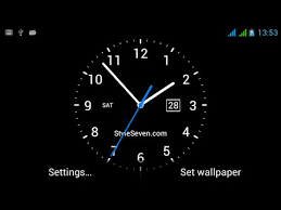clock themes for android mobile analog clock live wallpaper 7 apps on google play