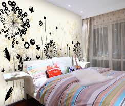 Trendy Wall Designs by Floral Modern Wall Design Decal Interior Design Ideas
