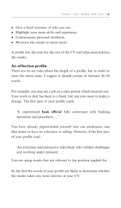 Resume Personal Attributes Sample by How To Write A Cv