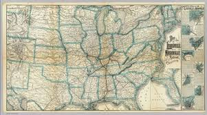 Florida Railroad Map by Louisville And Nashville Railroad David Rumsey Historical Map
