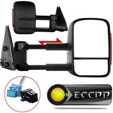 amazon com eccpp towing mirrors pair set for 2003 06 chevy