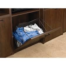 Laundry Hamper Tilt Out by Shop Rev A Shelf Tilt Out Hamper Basket At Lowes Com