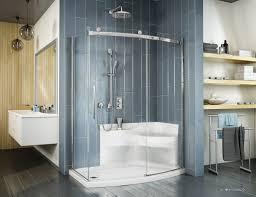 Acrylic Shower Doors by Fleurco Introduces The Shower Base With Seat U0027 U0027karina U0027 U0027 Kbis