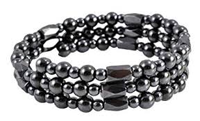 magnetic wrap bracelet images Dark gray magnetic simulated hematite wrap bracelet jpg