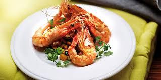 comment cuisiner des crevettes roses crevettes grillées facile et pas cher recette sur cuisine actuelle