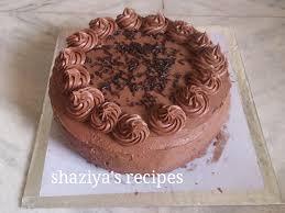 shaziya u0027srecipes moist chocolate cake recipe