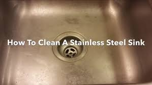 remove rust from sink sink how to remove rust from clean your kitchen and make it shine