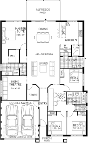 single story home floor plans newtown single storey home design foundation floor plan wa