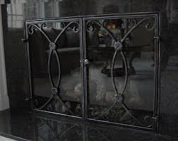 Single Fireplace Screen by Fireplace Screen Sale On Custom Fireplace Quality Electric Gas