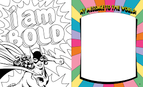 dc super heroes color me powerful book by sarah parvis