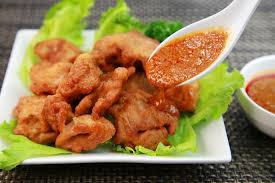 deep fried chicken with spicy hoisin sauce recipe