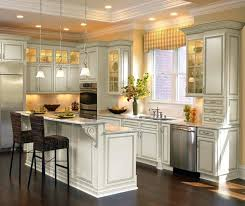 white kitchen white appliances off white kitchen cabinets off white cabinets with glaze by