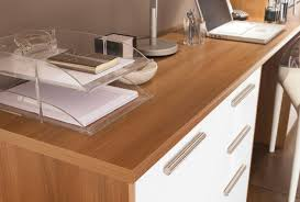 como walnut fitted home office furniture by sharps