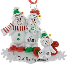 personalized christmas ornaments baby expecting christmas ornaments personalized