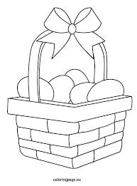 easter egg baskets to make easter egg basket coloring veligden easter egg