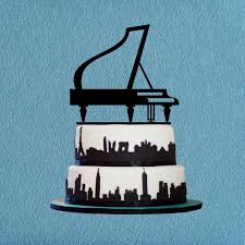 piano cake topper piano cake topper instrument cake topper for birthday or party