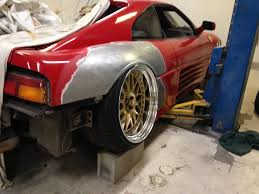 stanced cars someone thought a slammed ferrari was a good idea