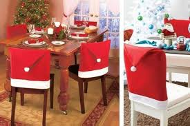 santa chair covers santa hat chair covers 4 6 8 or 10