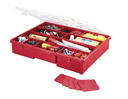 Extra Space Storage Boxes Stack On Sbr 18 17 Compartment Parts Storage Organizer Box With