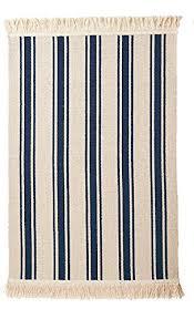 Striped Kitchen Rug Ikea Flatwoven Area Kitchen Rug Stripes Cotton Beige