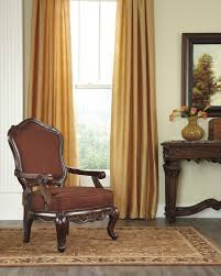 north shore old world brown wood leather fabric 3pc living room