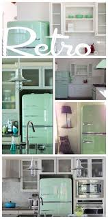 Kitchen Decorating Best Retro Fridge Retro Style Kitchen 55 Best What A Chill Color Jadite Green Images On Pinterest