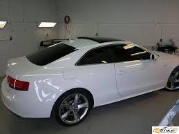 audi a5 roof audi a5 gloss black roof wrap vehicle customization shop vinyl
