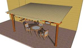 Plans For Patio Table by 51 Diy Pergola Plans U0026 Ideas You Can Build In Your Garden Free