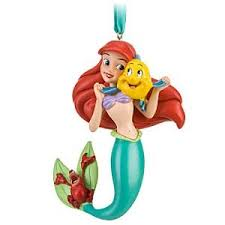 disney princess ariel mermaid ornament with
