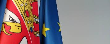 Flag Of Serbia Public Un Wanted In European Integration Of Serbia European