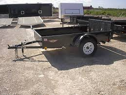 Landscape Trailer Basket badger trailer and power single axle utility trailers