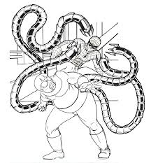 dr octopus coloring pages printable coloring home
