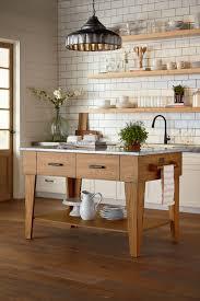 Bench For Kitchen Island Kitchen Island Magnolia Home