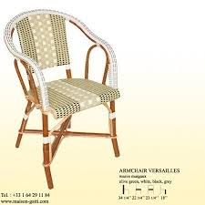 Woven Bistro Chairs Best Rattan Bistro Chairs 2010 Apartment Therapy