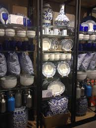 seen around town ballard designs new retail store nestfeathers blue and white accessories