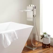 freestanding modern faucet signature hardware