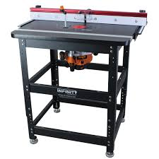 table saw router table infinity tools professional router table packages