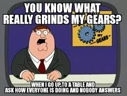 Server Meme - as a server in a restaurant this is frustrating meme guy