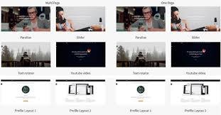 Resume Portfolio Template Parker Responsive Resume Portfolio Bootstrap Template Download