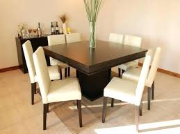 Square Dining Table 8 Chairs 8 Seater Dining Table And Chairs Impressive Living Room Best