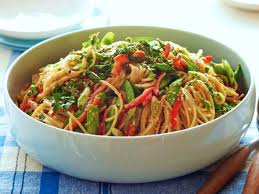 noodle salad recipes crunchy noodle salad recipe ina garten food network
